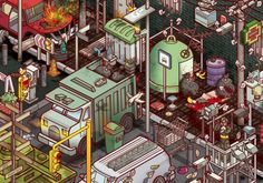Chaos by Miquel Tura Rigamonti, via Behance