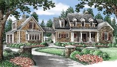 Haleys Farm - THE WINNER!!!!! APPROX 250,000Home Plans and House Plans by Frank Betz Associates