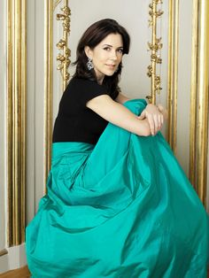 Princess Mary of Denmark, wife of Crown Prince Frederick of Denmark.