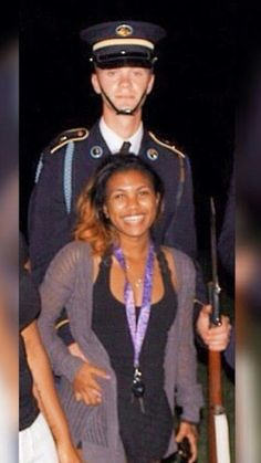 Beautiful interracial military couple #love #wmbw #bwwm  Find your #InterracialMatch Here #interracial-dating-sites.com #InterracialLove