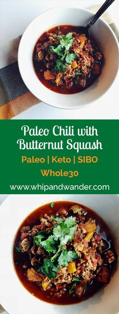 Paleo Chili with But