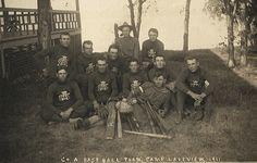 Baseball Uniforms 1911