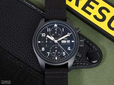 """Hands-on Review: IWC Pilot's Watch Chronograph Edition """"Tribute to 3705"""" IW387905 