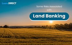 Are you planning to go for land banking? If so, then you should learn some of the risks associated with land banking before you go for it. Loans Direct, Fast Loans, Loan Application, Saving Money, Budgeting, Commercial, To Go, Truck, How To Plan