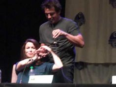 Torchwood Panel DragonCon 2013 Pt 1 - YouTube - hysterical clip - seriously, stick with it until minute 2.