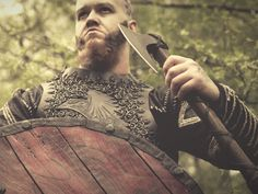 Death, in the Viking belief, was the only way to find Odin in their afterlife. But not all kinds of death could deserve a seat in Valhalla. Only those sacrificing in battle could join Valhalla. Dying of old age or sickness was not something glorious in Viking age. Because of this, the old man could not see his Odin [...] Old Warrior, Viking Warrior, Viking Age, Vikings Live, Last Battle, Old Age, Norse Mythology, Believe In God, The Only Way
