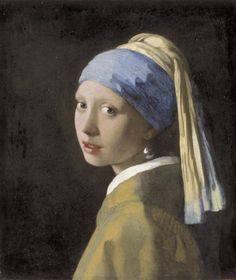 Girl with the pearl earring.  Vermeer