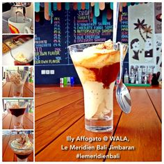 Coffee + Ice Cream by WALA, the best combo to combat summer!  Our Barista shares the secret recipe on how to make this delicious drink, straight from our WALA Laboratory! Check our Facebook for recipe info: Le Meridien Bali Jimbaran
