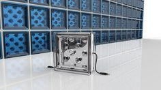 Solar Squared: A Glass Block That Generates Electricity