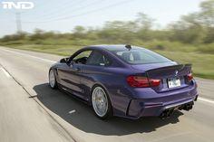Purple-BMW-M4-