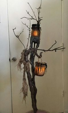 Witch/ Swamp Lamp Tutorial