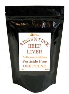 CurEase Argentine Beef Liver Powder Pesticide and Hormone Free 1lb One Pound
