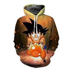 652839c367be Kid Goku Hoodie Dragon Ball Z
