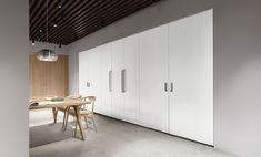 The hidden Arclinea Convivium - Arclinea Conceptstore Building, Kitchen, Table, Furniture, Design, Products, Home Decor, Cuisine, Buildings