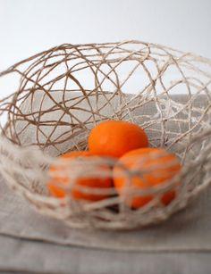Create a Stunning String Bowl for Your Home (via craft.tutsplus.com). #FreeTutorial #StringBowl #EasyCraft