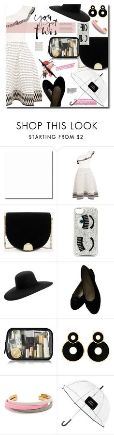 """""""09.09.17"""" by malenafashion27 ❤ liked on Polyvore featuring Maje, Ted Baker, Chiara Ferragni, Maison Michel, Chanel, J.Crew and Kate Spade"""