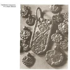 10th century Slavic silver ornaments in Sweden