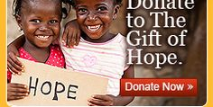 """This """"Giving Tuesday"""" please consider supporting the wonderful work of Gift of Hope.  Just returned from a visit to S. Africa where we experienced firsthand the need and the impact that this organization is having.  www.giftofhopeusa.org"""
