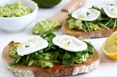 Sourdough Bread With Avocado Spread   Start your day with this mouth-watering toasted sourdough bread with avocado spread! Simple, healthy & very very tasty! @happyfoodstube