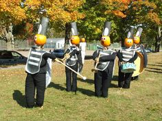 Marching Band Scarecrows! :D @Dorothy Todd Turnbull  @Melody Gee Pyles