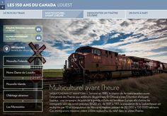 SASKATCHEWAN ET MANITOBA — Terminé en 1885, le chemin de fer transcanadien ouvre l'immensité des Prairies aux ambitions de pionniers. Et Ottawa a bien l'intention d'occuper l'espace:une campagne de publicité à grande éc