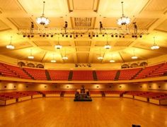 San Jose Civic has a flexible layout to fit any concert or event!