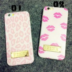 Victoria's Secret Sexy Pink Lippe Back Cover Case TPU Handyhülle für iphone 5/5S, iphone 6/6Plus - Prima-Module.Com