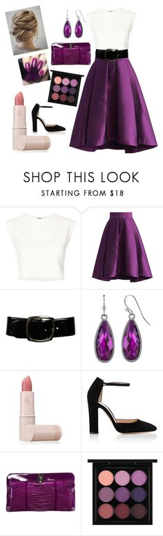 """Pretty Purple"" by amartin10 ❤ liked on Polyvore featuring Puma, Chicwish, Chanel, 1928, Lipstick Queen, Gianvito Rossi, STELLA McCARTNEY and MAC Cosmetics"
