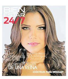 Miss Universe Puerto Rico 2014, Gabriela Berríos, para la revista Bienestar 24/7. (Nov. 2013)
