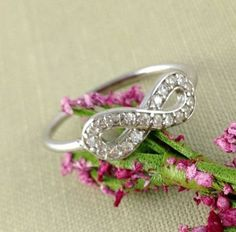 Infinity can mean many possibilities, and this is one beautiful ring