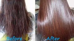 Home remedy for healthy and shiny hair: gelatin hair mask Gelatin Hair Mask, Steam Hair Straightener, Hair Treatment Mask, Diy Hair Mask, Diy Mask, Hair Masks, Natural Hair Styles, Long Hair Styles, Strong Hair