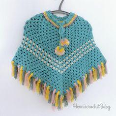 Crochet Baby Poncho, Crochet Girls, Crochet For Kids, Baby Knitting, Toddler Poncho, Girls Poncho, Winter Poncho, Handmade Baby Clothes, Baby Girl Gifts