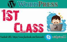 WordPress Tutorial in Urdu 1st class