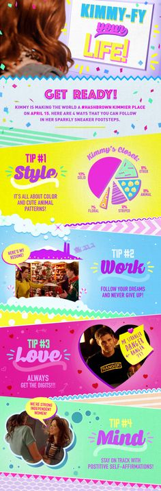 Kimmy-fy your life with these tips from #KimmySchmidt! Season 2 all episodes April 15.