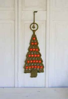 Macrame Christmas tree