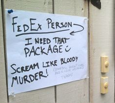 30 Hysterical Signs