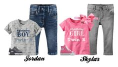 """Jordan and Skylar's Outfits For Their First Birthday Party!"" by myhappyfamily ❤ liked on Polyvore featuring Old Navy and NIKE"
