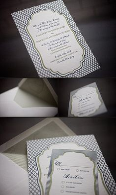 love this RSVP!  who says it has to be plain jane - yes or no?