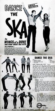 """Dance the Ska! 4 Ska steps to choose from. Ska Punk, Ska Music, Reggae Music, Skinhead Reggae, Skinhead Fashion, Rude Boy, Northern Soul, Sick Kids, World Music"