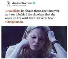 She wears grahams shoe lace!!!!