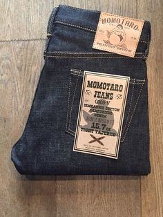 Momotaro denim made in japan available at JINJI Shop & online www.jinji.fr