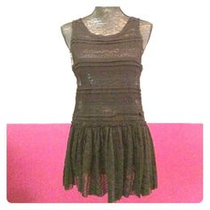 Free People sheer lace tunic tank This sheer lace tunic is from FPs Intimately collection. Great to wear on its own or layered up. In good condition. 50% nylon, 45% cotton, 5% spandex. Free People Tops Tunics