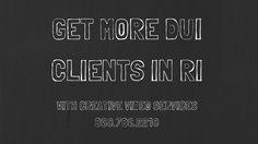 Creative video marketing in RI - DUI lawyer marketing in Rhode Island Lawyer Marketing, Business Marketing, Marketing Videos, Creative Video, Rhode Island