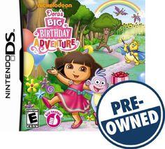 Dora's Big Birthday Adventure — PRE-Owned - Nintendo DS, 710425358333