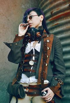 "We are an Italian Steampunk group, and we need support! Please put a ""like"" on our Facebook page: http://www.facebook.com/Alcabhiti    Photo by Alessandra Cirillo"