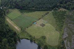 La 35e Saint-Michel vue du ciel lors du Grand Camp d'Unité 2011 #SkyIsTheLimit #Scouting