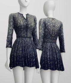 Pattern dress at Rusty Nail