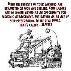 The best way to sum up crapitalism.  #crapitalism  #capitalism