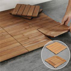Outdoor Wood Flooring, Balcony Flooring, Outdoor Tiles, Indoor Outdoor, Patio Tiles, Wood Patio, Wooden Floor Tiles, Tile Floor, Flooring Tiles