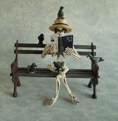 The Haunted Dollhouse - Patricia Paul Studio these are the best haunted minis pretty much ever